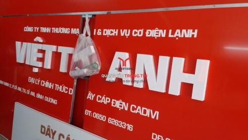 Bảng hiệu alu - Việt Anh