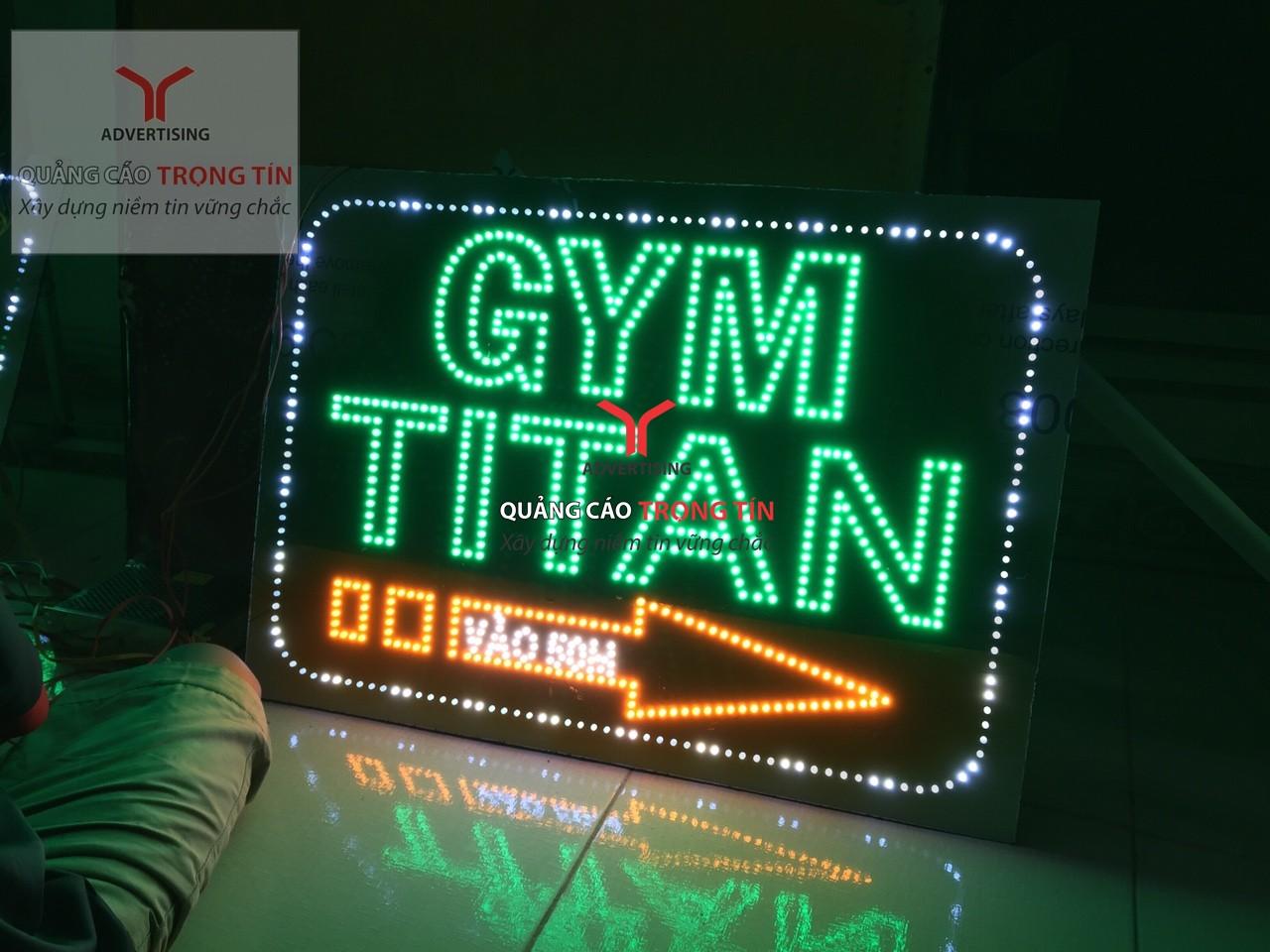 Gia công bảng hiệu hộp đèn giá rẻ, uy tín tại HCM